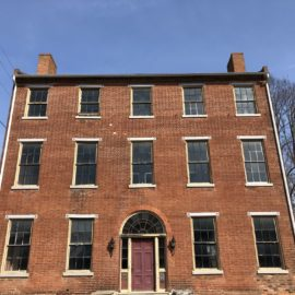 Lancaster Lime Works provided consultation Services at the Historic Linden House.