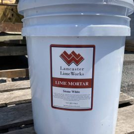 Lime Mortar for Stone