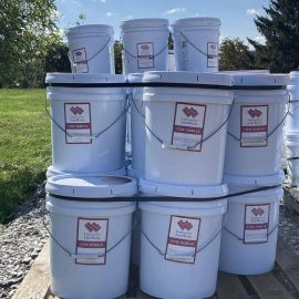 5 Gallon Lime Putty Mortar Mix Seconds